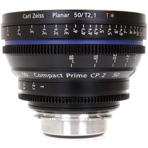 ZEISS COMPACT PRIME CP.2, PL  T2.1/ 50mm